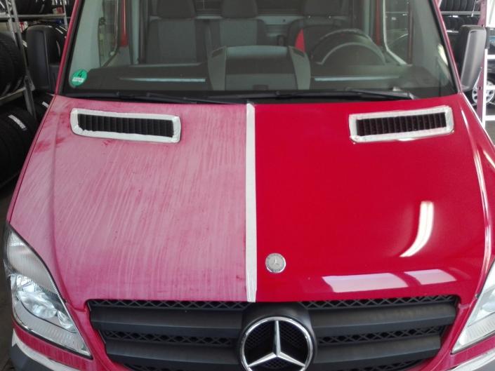 Mercedes Benz Sprinter Fahrzeugaufbereitung Vergleich