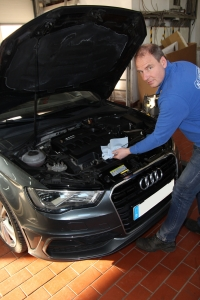 Audi Inspektion Kfz Meister Matthias Kosbab