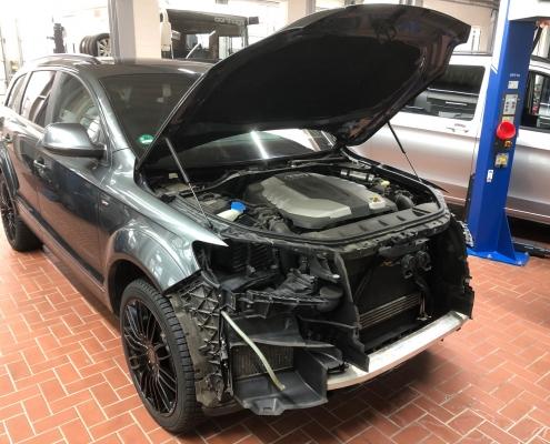 Unfallinstandsetzung Audi